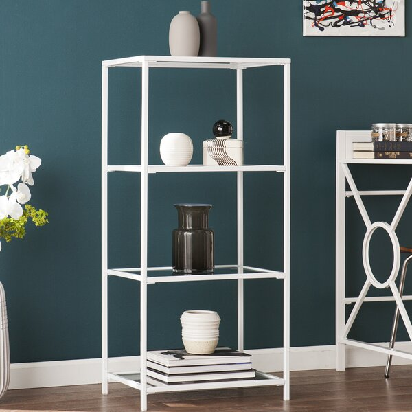 Orenstein 4-Tier Etagere Bookcase by Ebern Designs