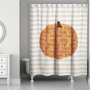 Inexpensive Embrace Autumn Shower Curtain ByThe Holiday Aisle