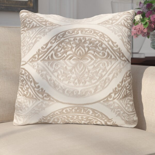 Parish Cotton Throw Pillow by Darby Home Co