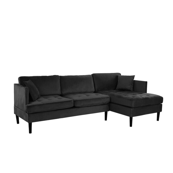 Last Trendy Derosier Right Hand Facing Sectional by Hashtag Home by Hashtag Home