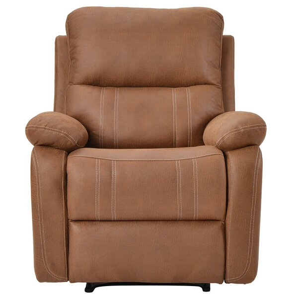 Julesnurg Genuine Leather Manual Recliner W003237076