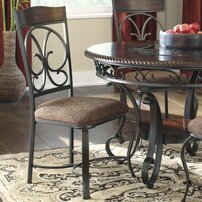 Carrick Upholstered Dining Chair (Set of 4) by Winston Porter