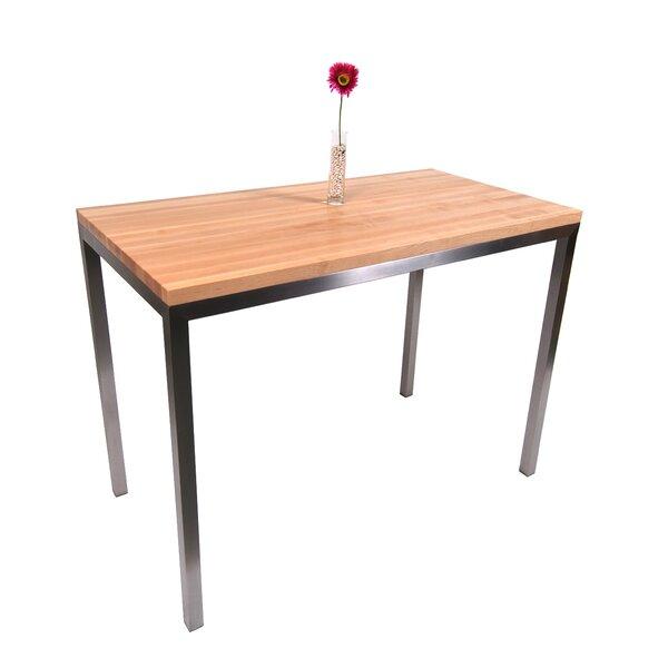 Metropolitan Designer Prep Table with Wood Top by John Boos