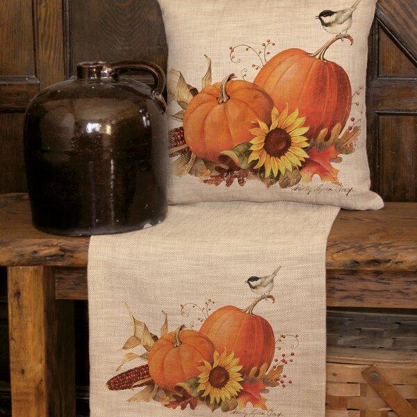 Lenni Pumpkin Runner by Gracie Oaks