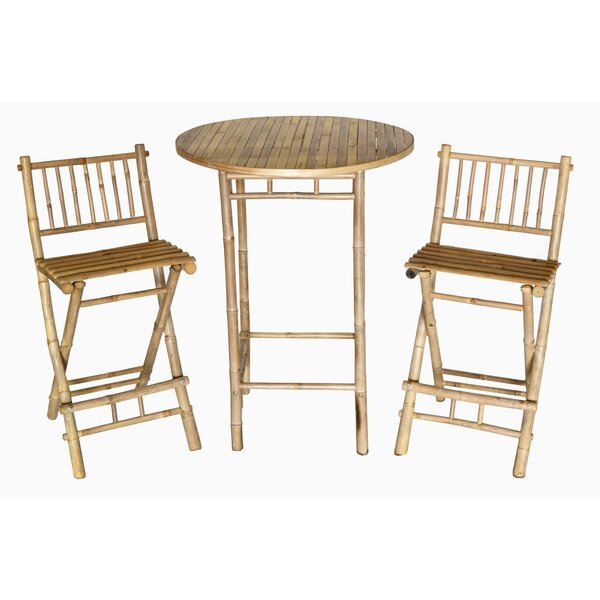 Dickenson 3 Piece Bistro Set by Bay Isle Home