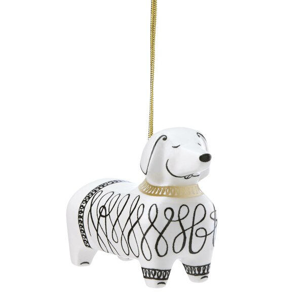 Dachshund Ornament by kate spade new york