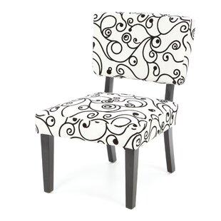Reviews Blair Floral Side Chair by Ebern Designs