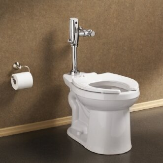 Universal Dual Flush Elongated One-Piece Toile by American Standard
