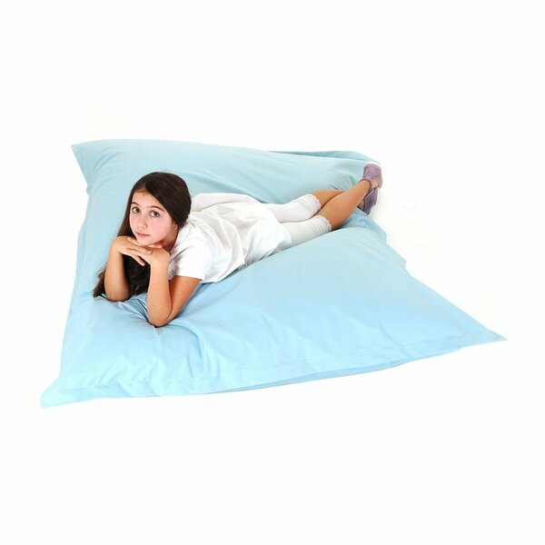 Bean Bag - Floor Cushion - 140x180 cm - Light Blue by Latitude Run