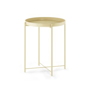 Shop For Murphy Round Metal Tray Table By Mercer41