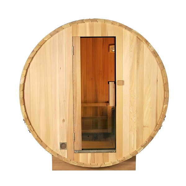 Pine Barrel 5 Person Steam Sauna by ALEKO