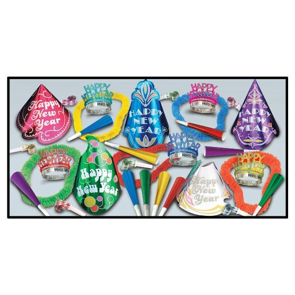 Cabaret Party Hat Set by The Holiday Aisle