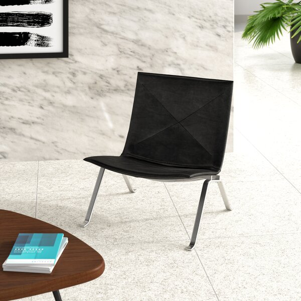 Henrika Leather Lounge Chair by Upper Square?? Upper Square�??