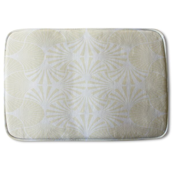 Aman Star Ornament Designer Rectangle Non-Slip Bath Rug