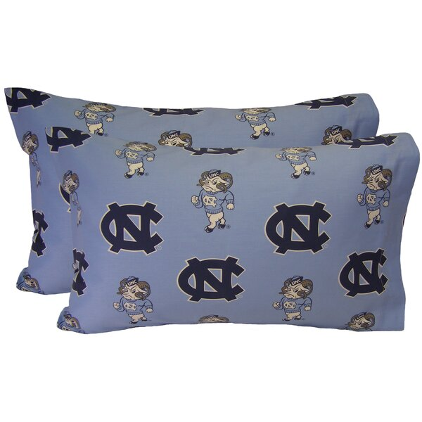 NCAA North Carolina Tar Heels Pillowcase (Set of 2) by College Covers