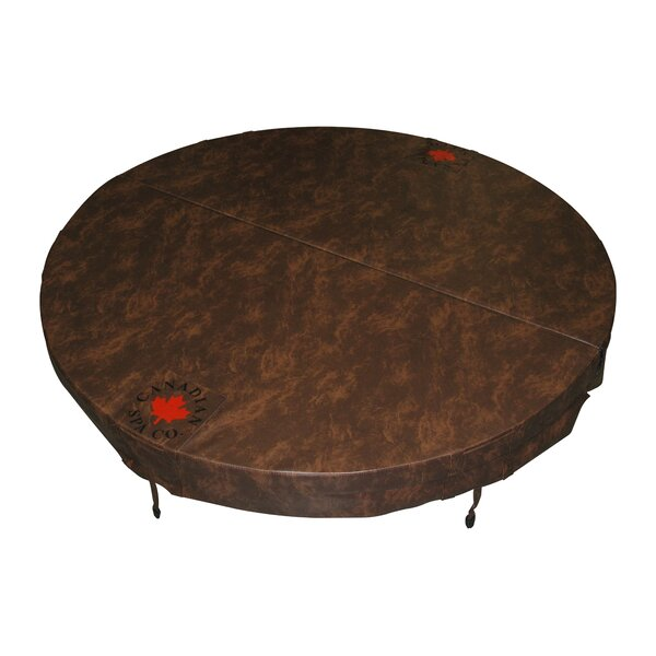 Round 5 in/3 in Tapered Spa Cover by Canadian Spa Co