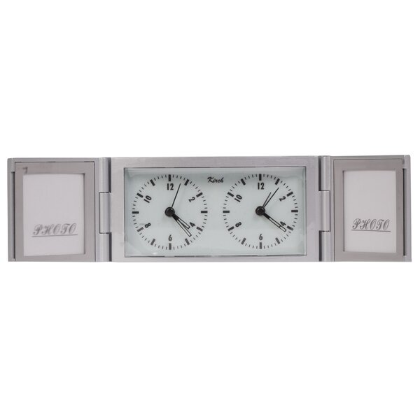 Photo Frame Alarm Tabletop Clock by Control Brand
