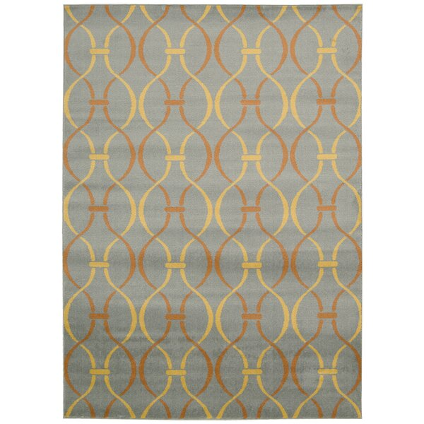 Severin Gray Area Rug by Wrought Studio
