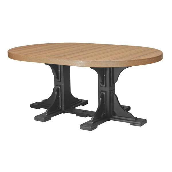 Inwood Plastic Dining Table by Ebern Designs