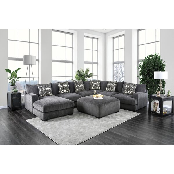 Ruthanne Modular Sectional with Ottoman by Latitude Run