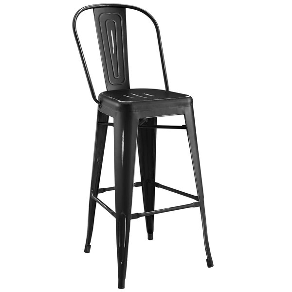 Ashlyn 30 Metal Framed Bar Stool by Williston Forge