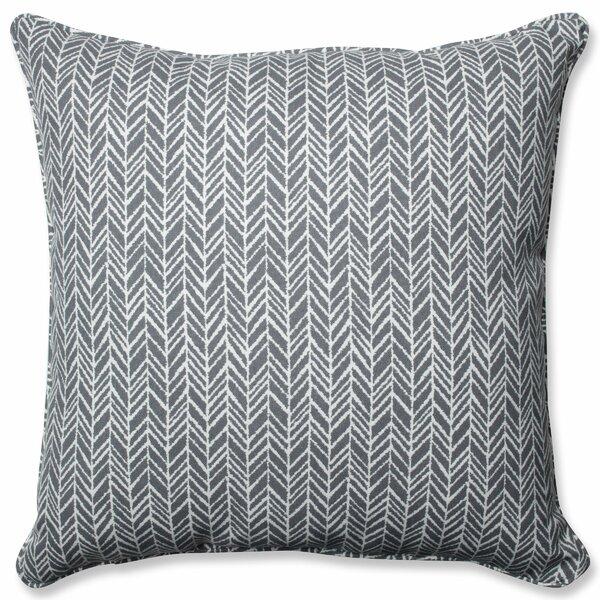 Karmi Herringbone Indoor/Outdoor Floor Pillow