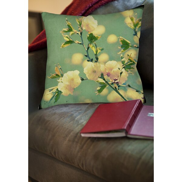 Vintage Botanicals 4 Printed Throw Pillow by Manual Woodworkers & Weavers