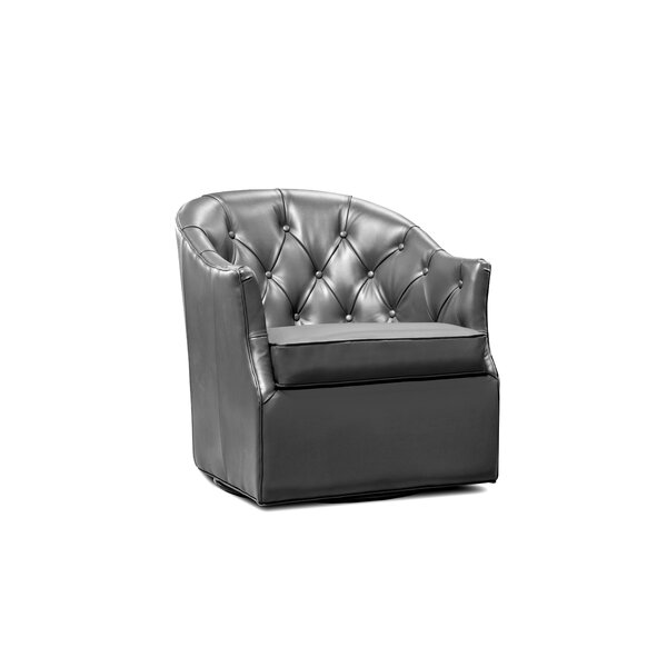 Elsa Swivel Armchair by Uniquely Furnished
