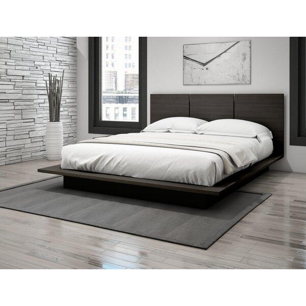Queen Plat Form Bed Wayfair