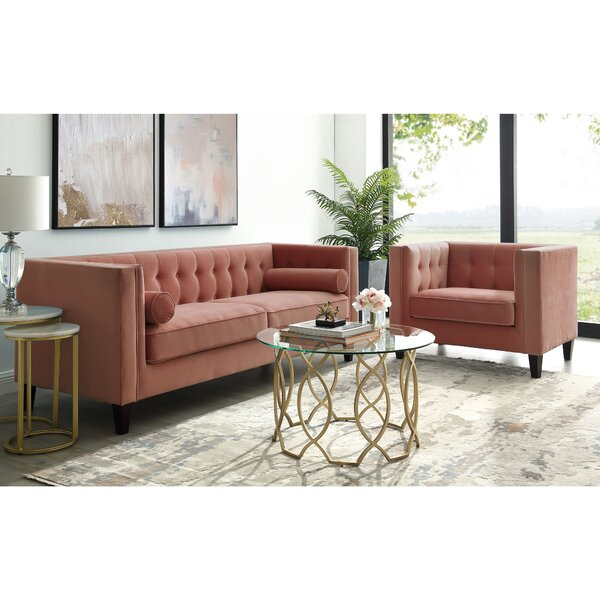 Arden Configurable Living Room Set by House of Hampton