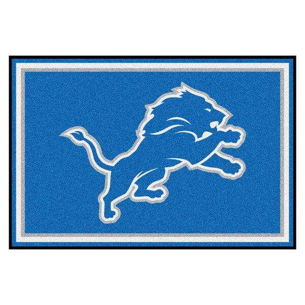 NFL - Detroit Lions 4x6 Rug by FANMATS