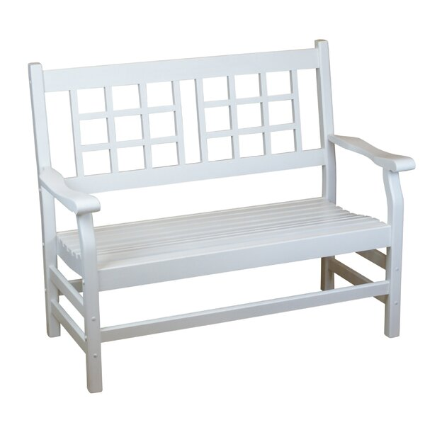 Barbery Wooden Garden Bench by Winston Porter