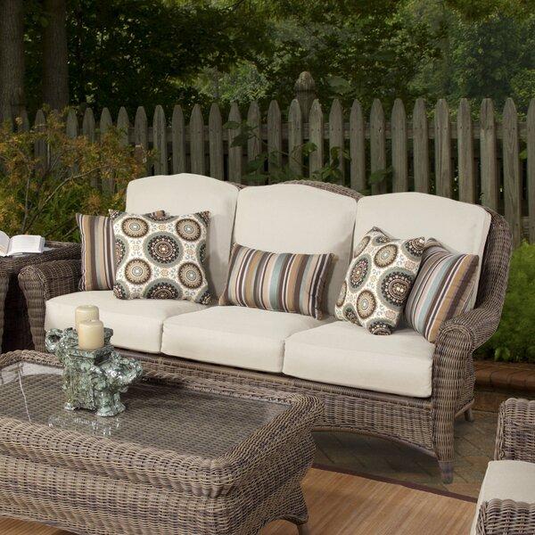 Aliza Patio Sofa with Sunbrella Cushions by Laurel Foundry Modern Farmhouse Laurel Foundry Modern Farmhouse