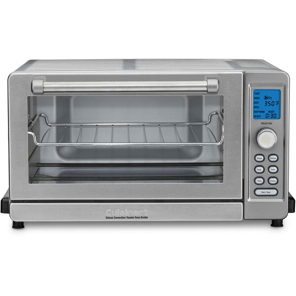 Deluxe Convection Toaster Oven Broiler by Cuisinar