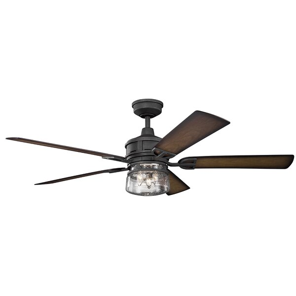 60 Pakwa 5 Blade Patio LED Ceiling Fan by Trent Austin Design