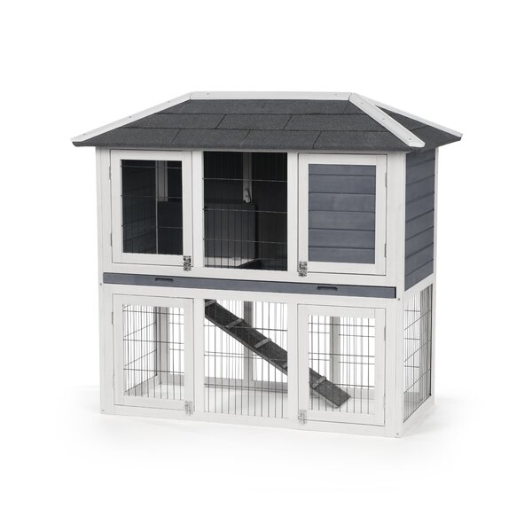 Englewood Duplex Rabbit Hutch by Archie & Oscar