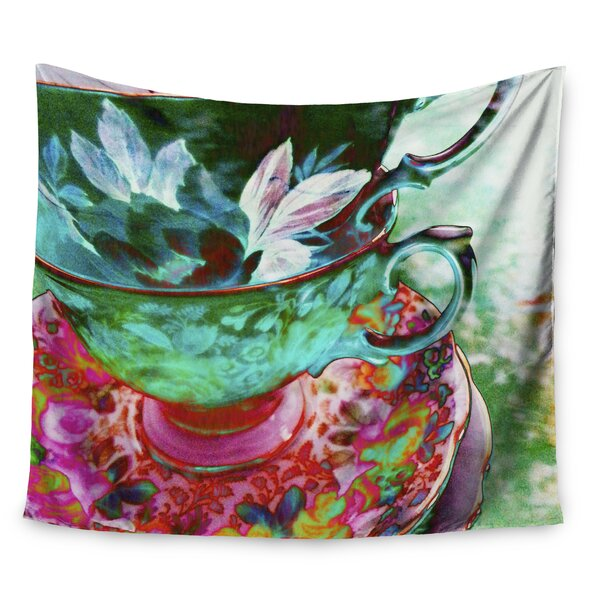 Mad Hatters T-Party IV by alyZen Moonshadow Wall Tapestry by East Urban Home