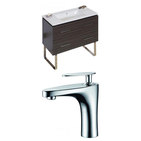 Kyra 36 Wood Single Bathroom Vanity Set by Orren Ellis