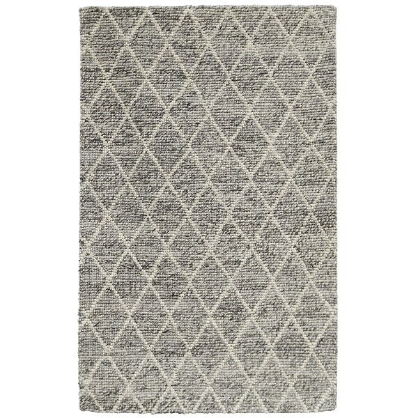 Landon Hand-Woven Gray Area Rug by Kosas Home