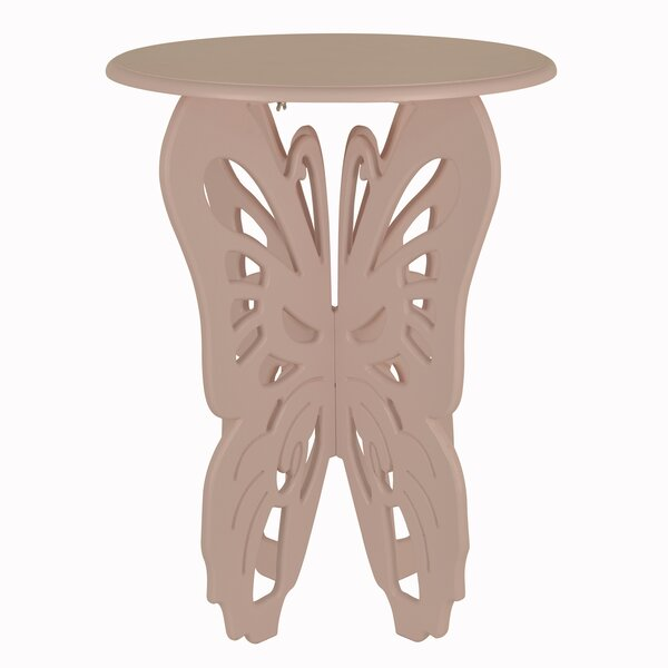 Tingley Butterfly End Table by August Grove