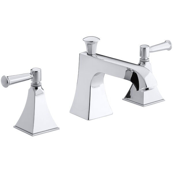 Memoirs Stately Deck-Mount Bath Faucet Trim for High-Flow Valve with Diverter Spout and Lever Handles, Valve Not Included by Kohler