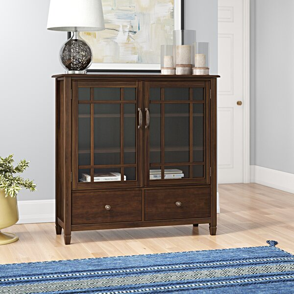 Gorlest 2 Door Tall Accent Cabinet by Three Posts Three Posts
