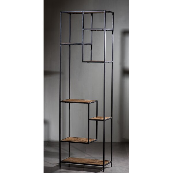 Brotherhood Geometric Bookcase by Williston Forge
