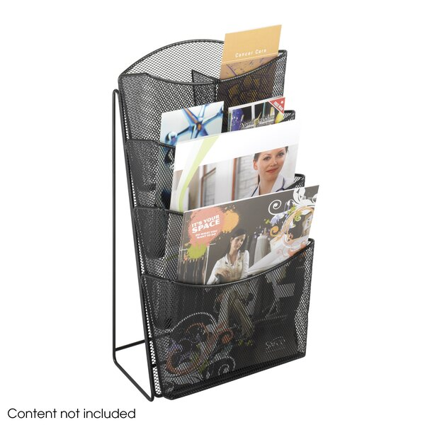 Mesh 4 Compartments Counter Display by Rebrilliant