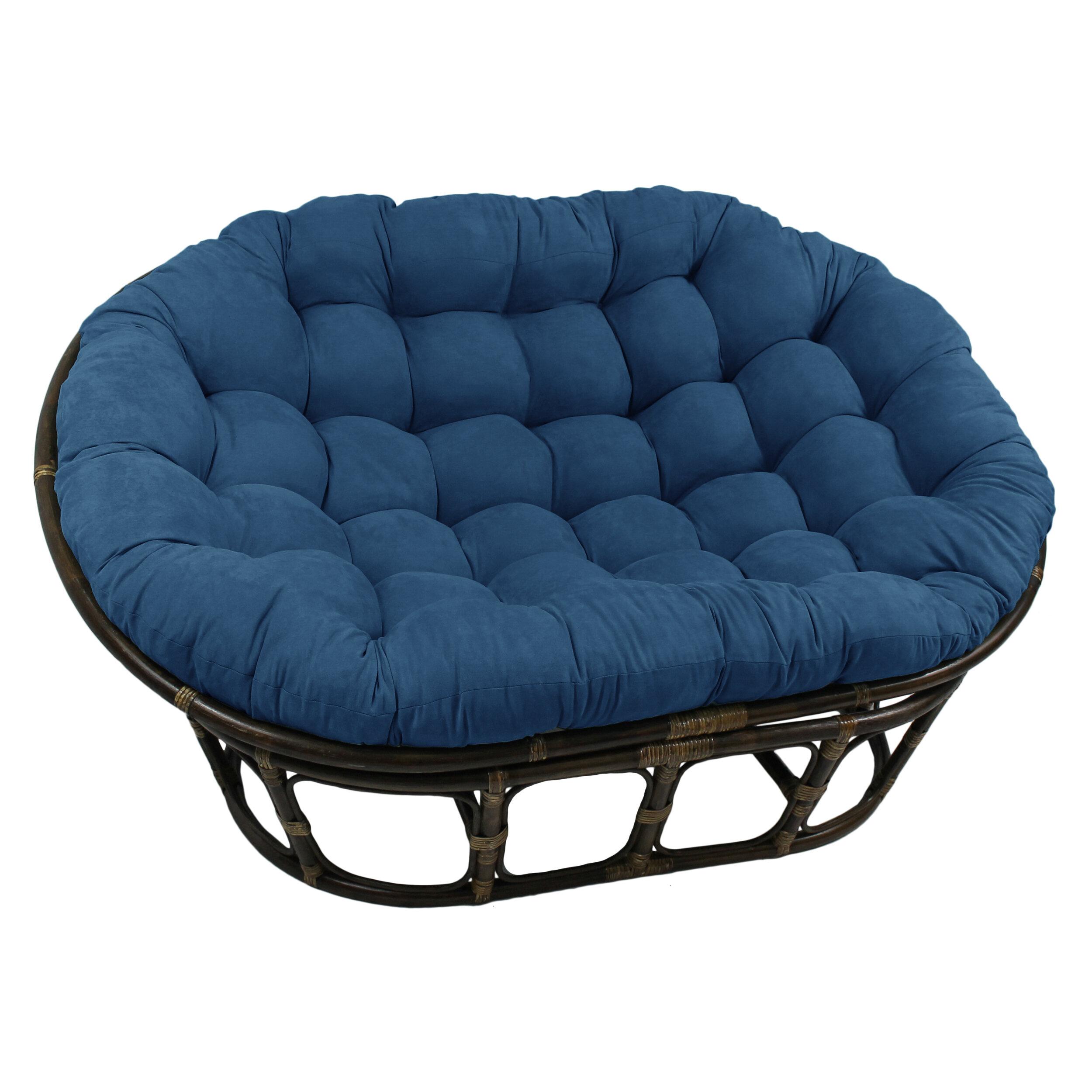International Caravan Double Papasan Chair Home Garden Furniture Chairs