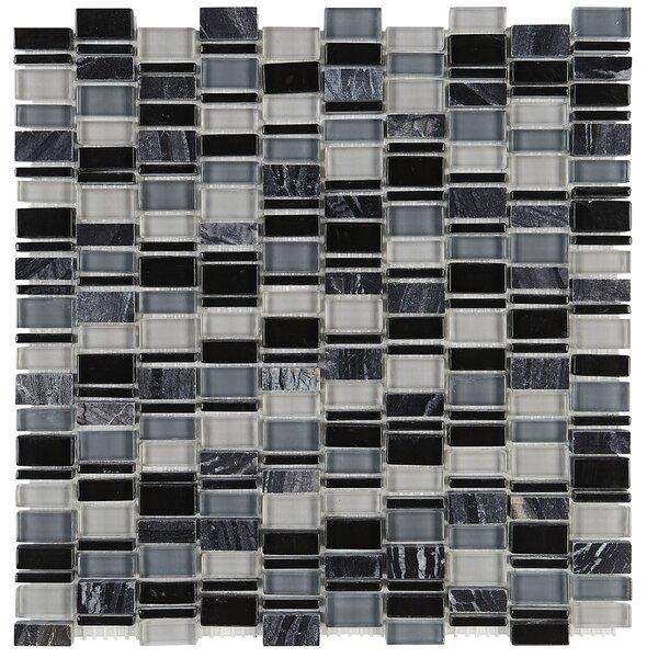 Clio Random Sized Glass Mosaic Tile in Boreas by Daltile
