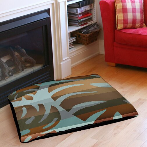 Tropical Leaf 4 Indoor/Outdoor Pet Bed by Manual Woodworkers & Weavers