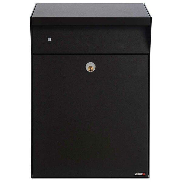 Allux Locking Wall Mounted Mailbox by Qualarc