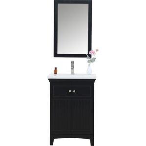 24 White Bathroom Vanity 24 inch bathroom vanities you'll love | wayfair