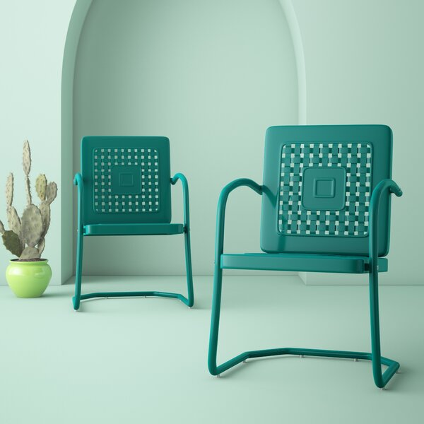 Corentin Patio Chair (Set Of 2) By Hashtag Home by Hashtag Home Sale